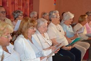 Atelier chant pour les personnes âgées