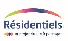 Les Résidentiels Résidences services seniors logo